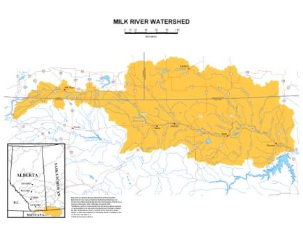 Milk River Watershed Council Canada Overview Of The Milk River